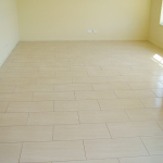 Brickbond living area floor
