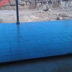 Portico floor